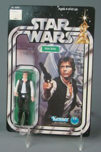 Han Solo action figure 1977